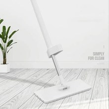 Mop Flat Household Lazy Rotating Hand-free Wash Wet Dual-use Tile Floor Wooden a Drag  Cleaning Artifact