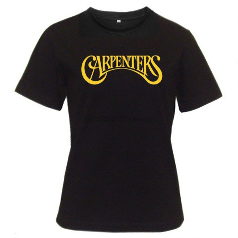 017 crew neck brand new tshirt short-sleeve tees Mans Unique Cotton Short Sleeves O-Neck T Shirt The Carpenters 70 Pop T-shirt