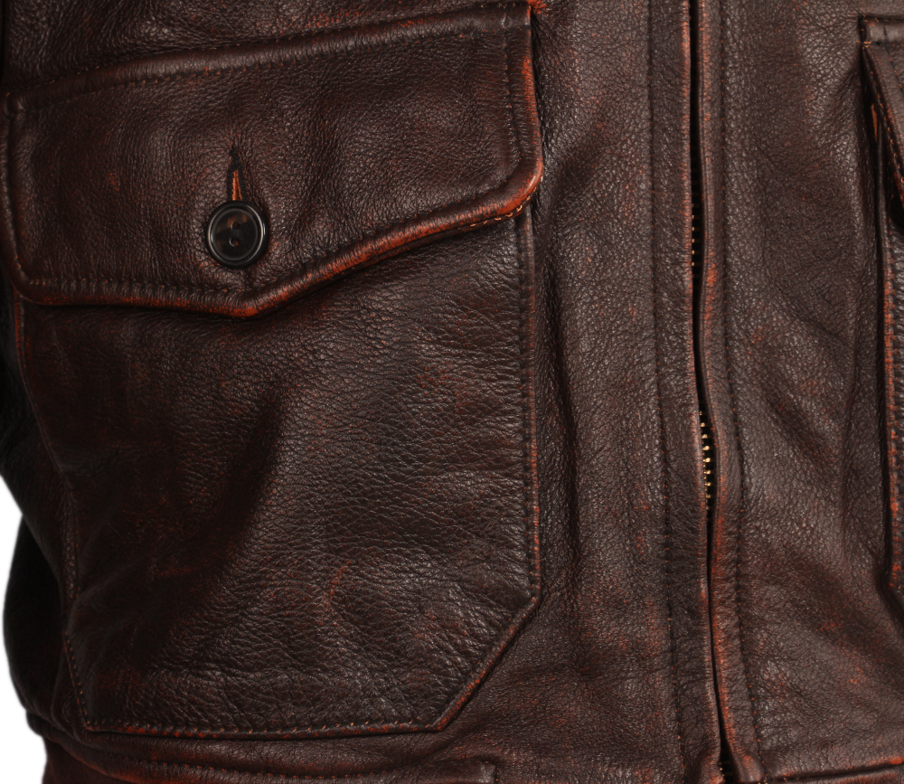 H2cb2a5a56a334de0ba3d4e423e834dfcf Vintage Distressed Men Leather Jacket Quilted Fur Collar 100% Calfskin Flight Jacket Men's Leather Jacket Man Winter Coat M253