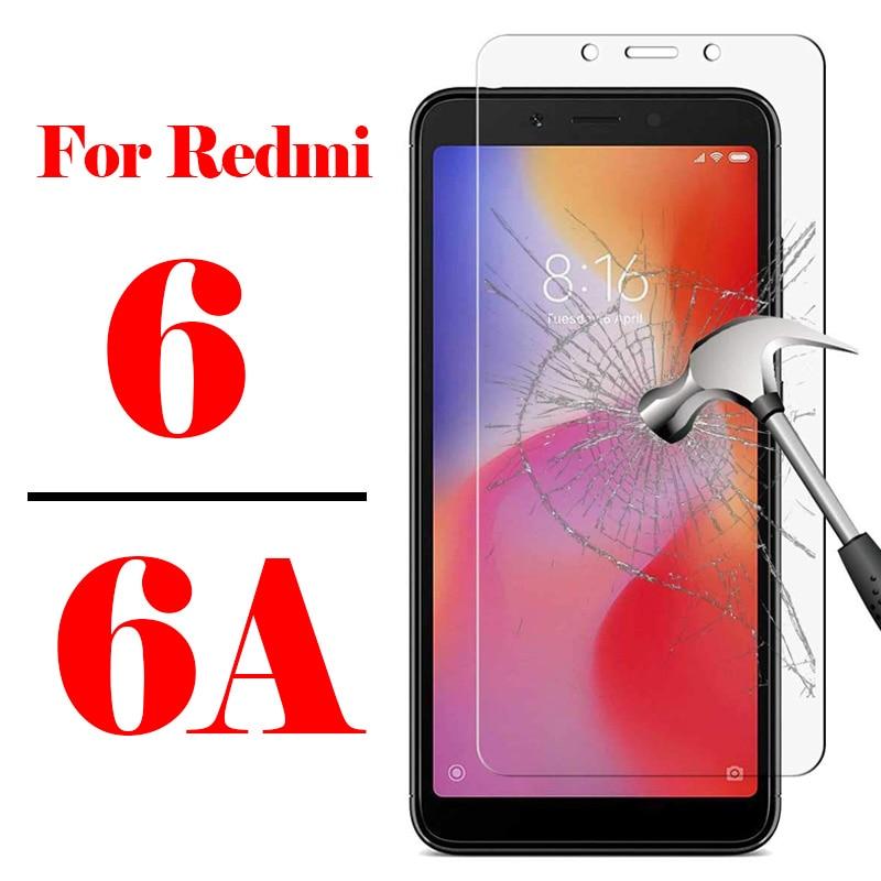 Redmi6a vidro protetor de tela, vidro temperado de segurança para xiaomi redmi 6 a 6a a6 redmi6 redmi6a filme filme