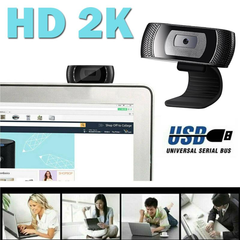 2K HD Auto Focus Webcam Built-in Microphone High-end Video Call Camera Computer Peripherals Camera 2568*1520 Dynamic Resolution