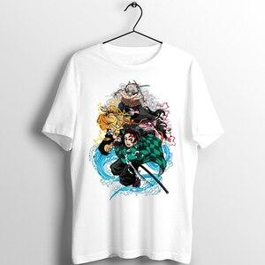 Men's T Shirt Demon Slayer Blade of Demon Destruction Nezuko Nezuko Kamado Printed Tee(China)