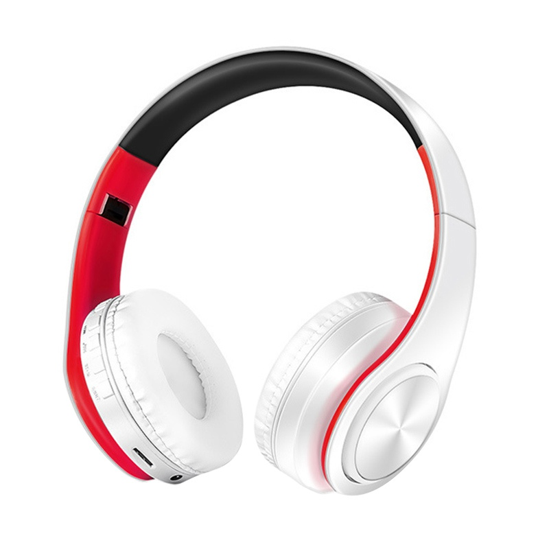 Foldable Stereo Audio Mp3 Bluetooth Headset Wireless Headphones Earphone support SD card with Mic YH2
