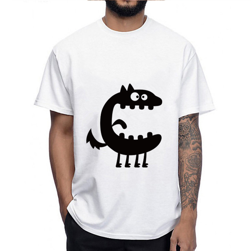 2019 NEW Big Mouth Ghost Printed T-shirts Men Casual Shirt Short Sleeve Fitness T Shirt Male Tops Halloween Men Clothing