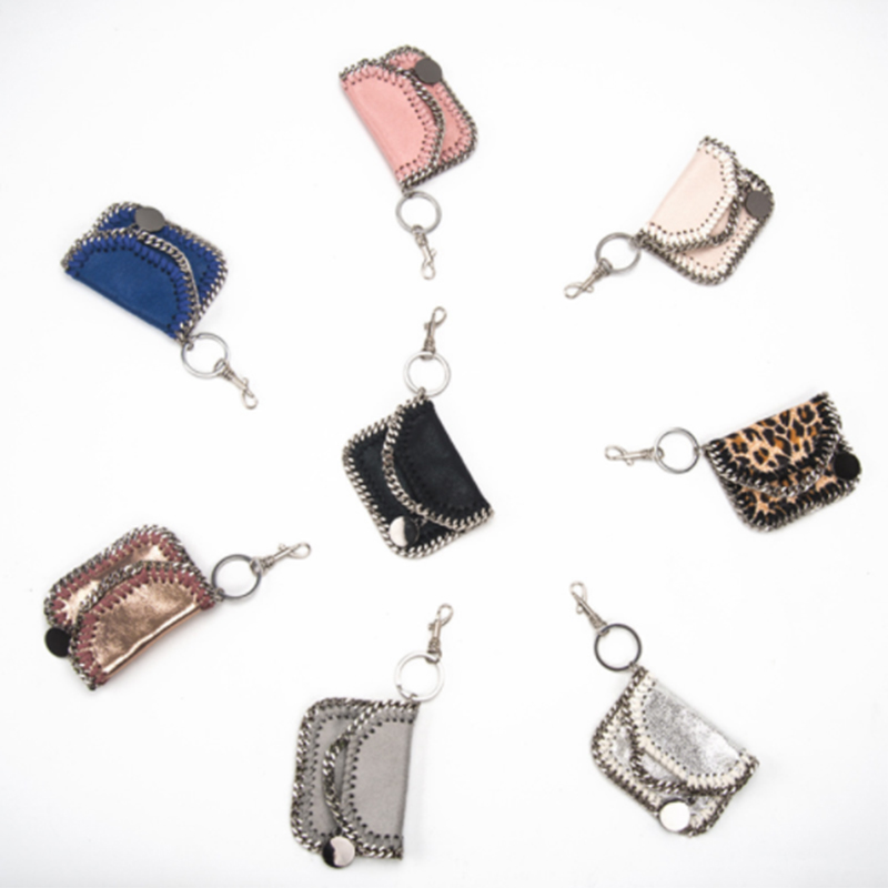 Bags For Women New Style Fashion Keychain Chain Accessory Bags  Multicolor Keyring Clutches Bags For Women Girls
