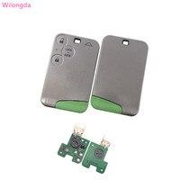 Wilongda não keyless 3 botão remoto chave pcf7947 chip 434mhz para renault laguna & velsatis & espace cartão Chave do carro     -