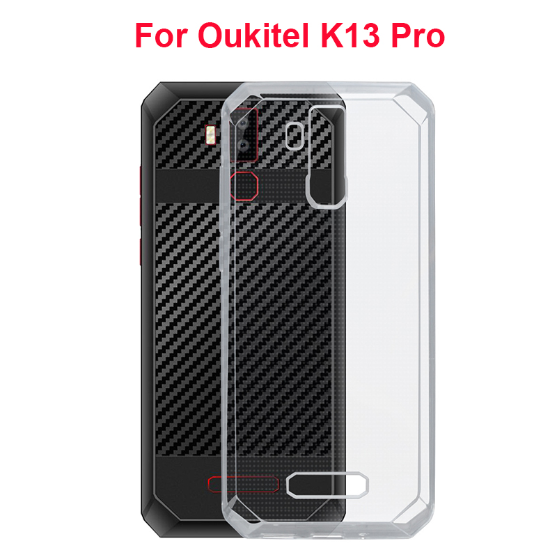 For <font><b>Oukitel</b></font> <font><b>K13</b></font> <font><b>Pro</b></font> Phone <font><b>Cases</b></font> Soft TPU Fitted Cover Transparent Clear Silicone <font><b>Case</b></font> For <font><b>Oukitel</b></font> <font><b>K13</b></font> <font><b>Pro</b></font> Cell Phone Shell Coque image