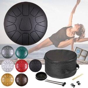 Image 1 - 12 pouces 11 Notes langue en acier tambour Instruments de Percussion musicale