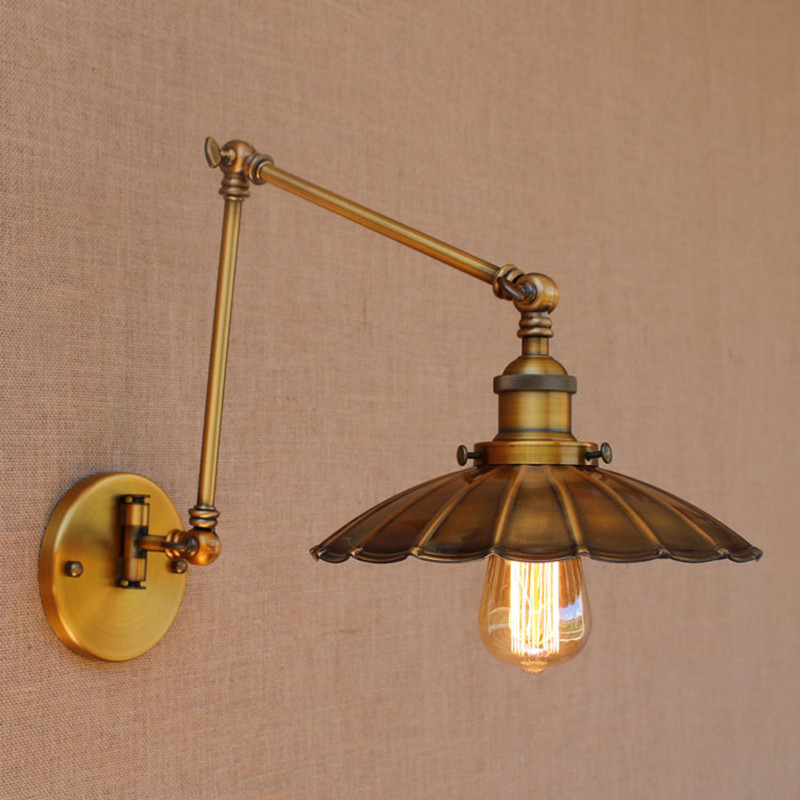 Loft Adjule Wall Lamp Swing Arm