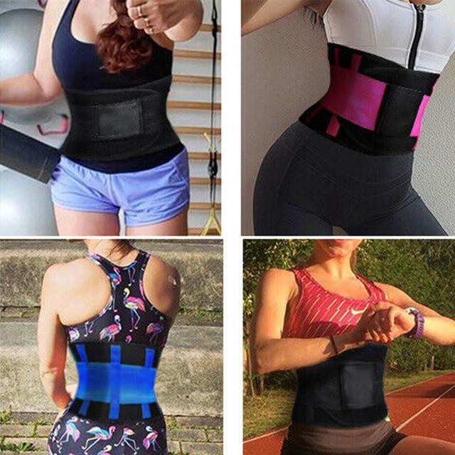 Women Men Waist Trainer Belt Tummy Control Waist Cincher Trimmer Sauna Sweat Belt Workout Girdle Slim Belly Band Sport Girdle 3X 5