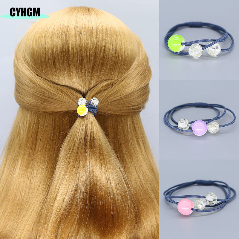 Elastic Hair Bands Velvet Scrunchie Opaska Do Wlosow Women Hair Ties Femme Haar Accesorios Mujer Girls Hair Rubber Band F06-6