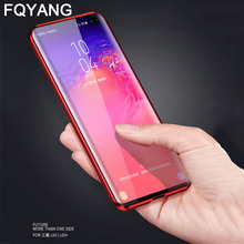 Magnetic Adsorption Metal Case For Samsung Galaxy NOTE 10 PLUS S10 5G S8 S9 S10LITE S10E NOTE8 NOTE9 9 Glass Cover