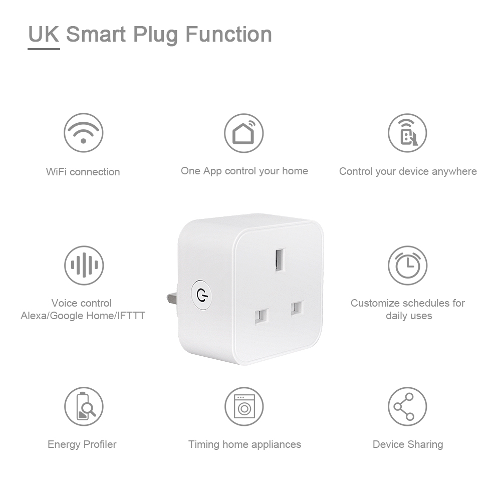 H2cb46f1247b74c1fb5f733e892208a2ac - UK WiFi Switch Mini Socket Plug Wireless Extender Remote Outlet Adaptor Wattmeter Smart Home Automation Alexa Google Compatible