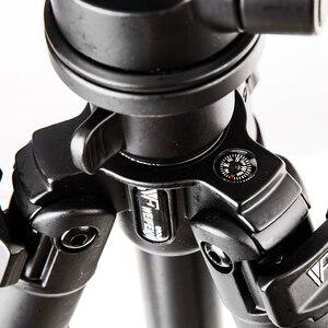 Image 4 - Dhl gopro weifeng wf6663a liga de alumínio magnésio wf 6663a tripé slr suporte da câmera digital tripé portátil por atacado