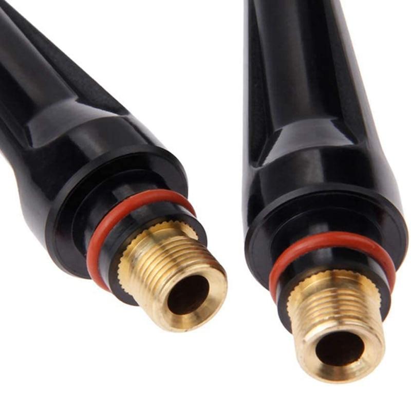 KIT Alumina WP SR 17 Torch Torch PTA Accessories For TIG Welding Body Cap DB TIG 18 Back Nozzle 68Pcs Consumables Collet