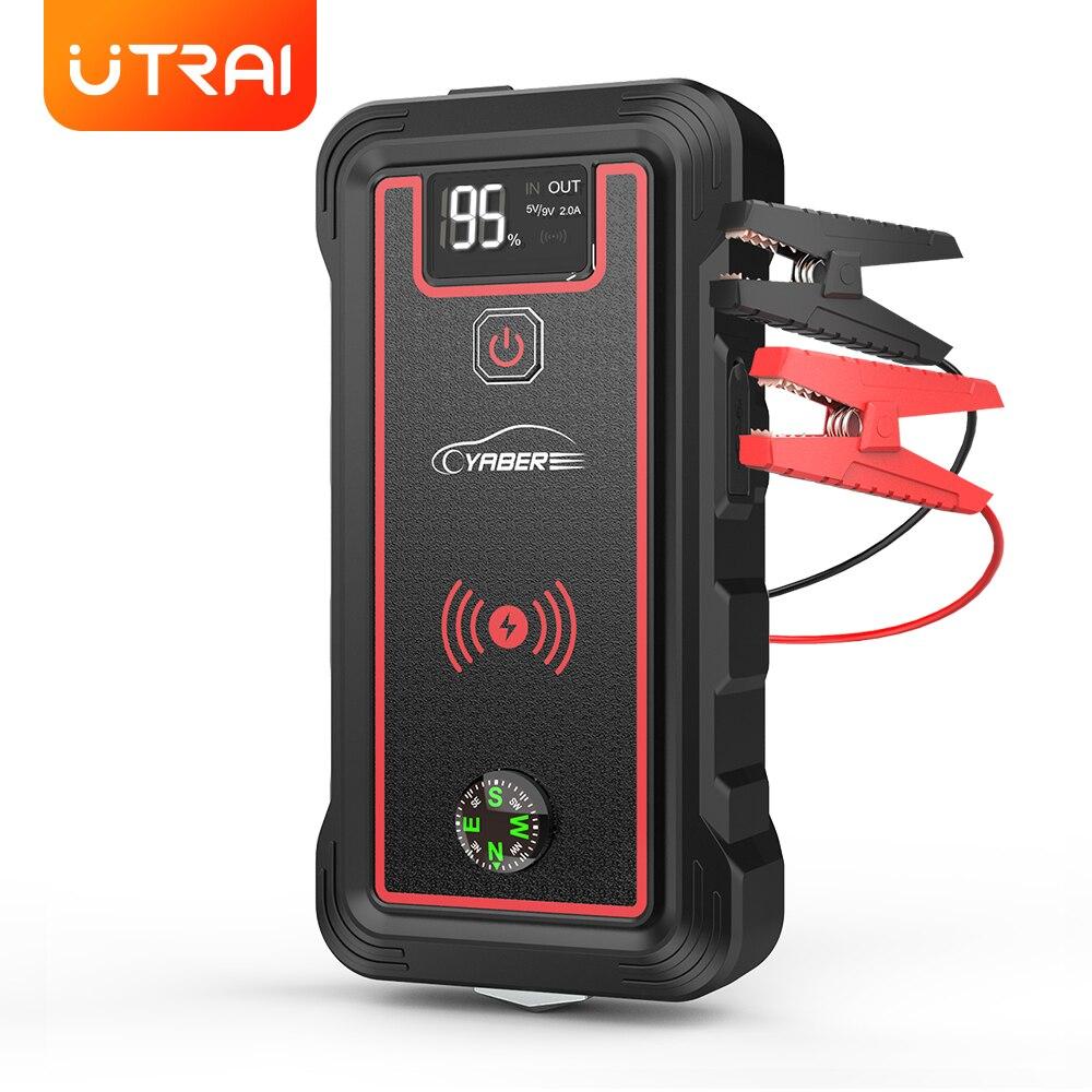 Пусковое устройство Yaber для автомобильного аккумулятора А, внешний аккумулятор, пусковое устройство, пусковое устройство с беспроводным за...