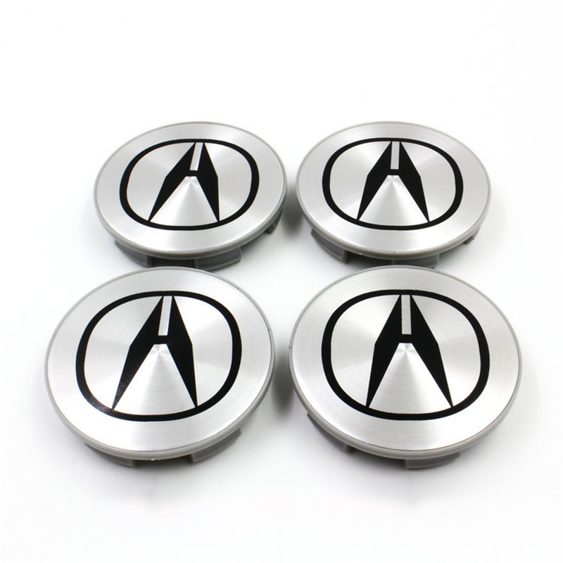 Suitable for Acura 69 Size Wheel Hub Cover TSX Tire Center Cap RSX Wheel Sign CL TL MDX Hub Caps     - title=