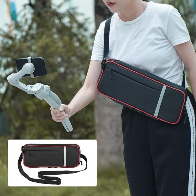 Portable Shoulder Bag for DJI OM 4 Osmo Mobile 3 Handheld Gimbal Carrying Case Protective Storage Adjustable Handbag Accessory
