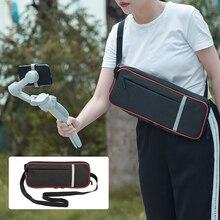 ポータブルショルダーバッグdji om 4 osmo携帯3ハンドヘルドジンバルキャリングケース保護収納調節可能なハンドバッグアクセサリー