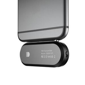 Image 5 - FM Trasmettitore FM Radio di Chiamata Senza Fili Radio 3.5 millimetri Adattatore Jack per il iPhone per Android Altoparlanti Auto Doosl