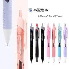1 pçs uni SXN-150 SXN-155 jetstream série caneta bola baixa fricção pastel cor escrita suave para estudantes que escrevem 0.38 /0.5/0.7m