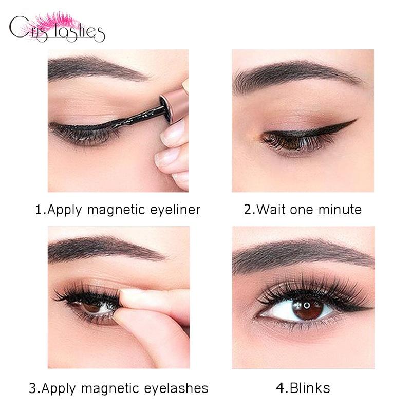 Magnet eyelash set (12)