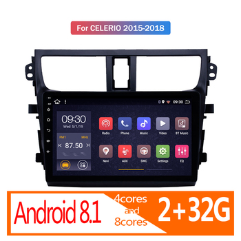 2G RAM Android Car Radio for Suzuki Celerio 2015 2016 2017 2018 autoradio coche audio auto stereo GPS navigator vehicle player image