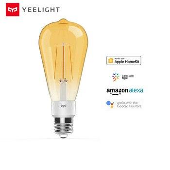 Original yeelight smart LED Filament bulb YLDP23YL 500 lumens 6W Lemon Smart Work for Apple homekit and mijia app - discount item  32% OFF Smart Electronics
