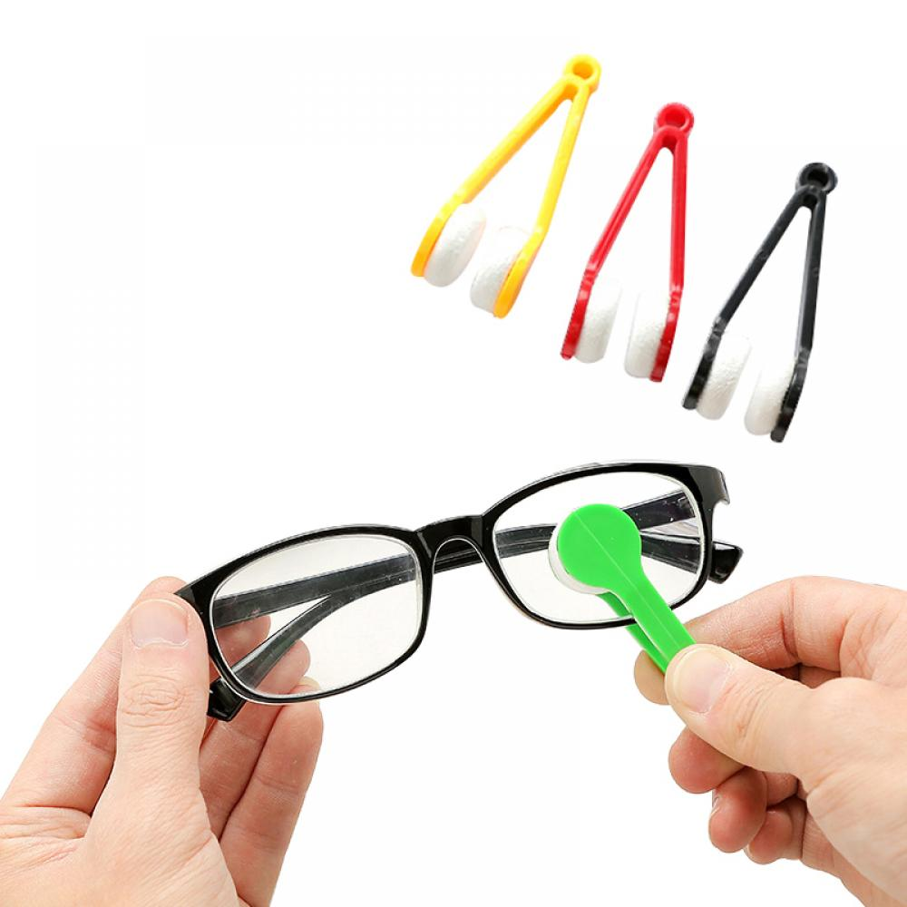 Microfiber Eyeglass Cleaning Brush Soft Brushes for Sunglasses Cleaner Wiping Tools Cleaning Gadgets