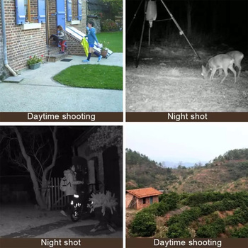 DL-100 Hunting Trail Camera Wildlife Camera Night Vision Motion Activated Outdoor Forest Camera Trigger Wildlife Scouting Camera 4