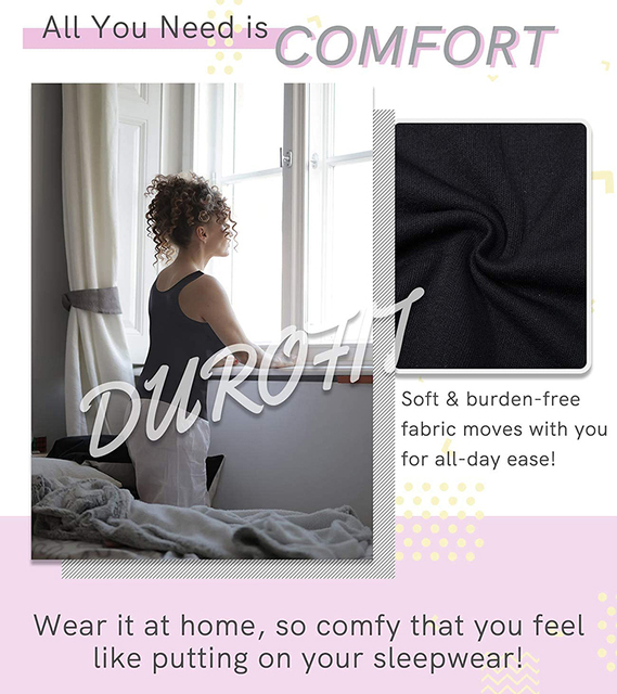 Women Cami Shaper with Built in Bra Tummy Control Camisole Tank Top Underskirts Shapewear Slimming Body Shaper Compression Vest 4