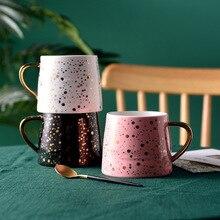 Twinkle Spark Beautiful Ceramic Mug Tea Milk Coffee Cup Home Office Decor Drinkware Waterware Gift
