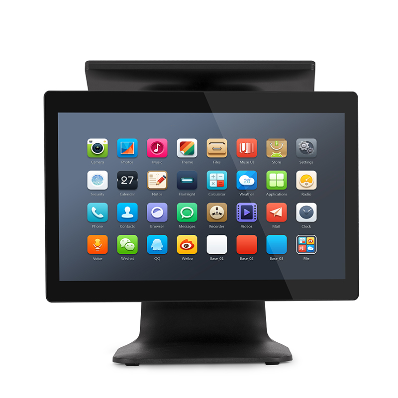 15 Inch Windows All In One Electronic Cash Register POS System Machine