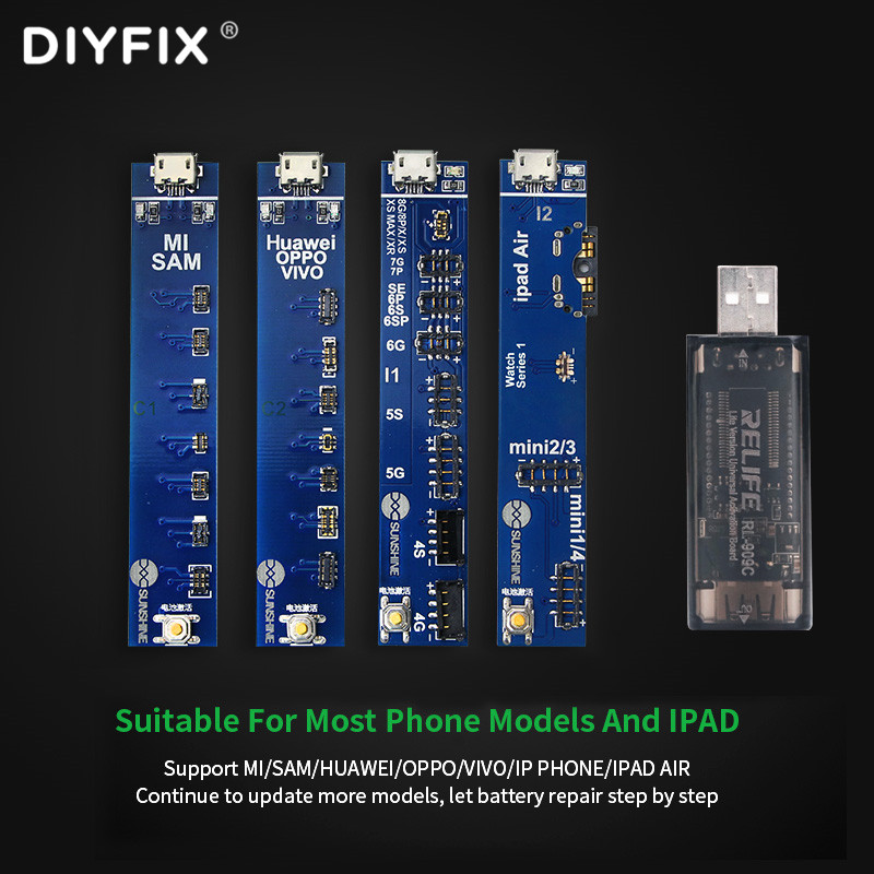 Universal Phone Battery Fast Charging And Activation Board USB Tester For IPhone IPad Samsung Xiaomi China Phone Repair Tool Set