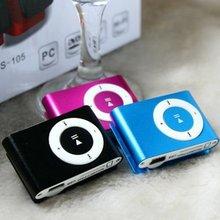 Metal Mini Clip MP3 Player Sport Digital Music Support TF Ca