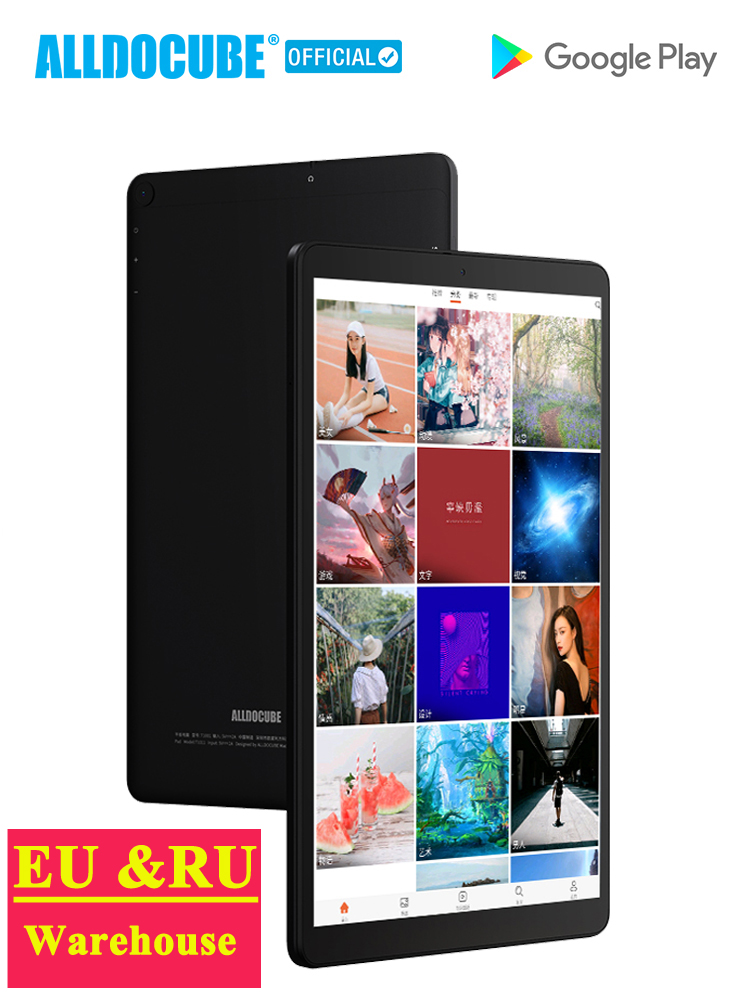 ALLDOCUBE iPlay20 10.1 inch 1200*1920 Dual 4G LTE Phone Android10.0 Tablets PC SC9863A Octa Core 4GB RAM 64GB ROM Dual Wifi GPS