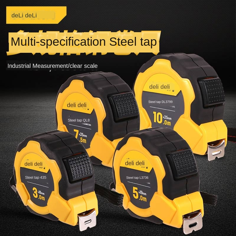 Steel Tape Measure 3m / 5m / 7m / 10m Multi-specification Small Portable Drawing Measurement And Calculation Tool