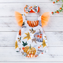 Newborn Baby Girl Ruffled Solid Color Sleeveless Backless Romper Jumpsuit Outfit цены