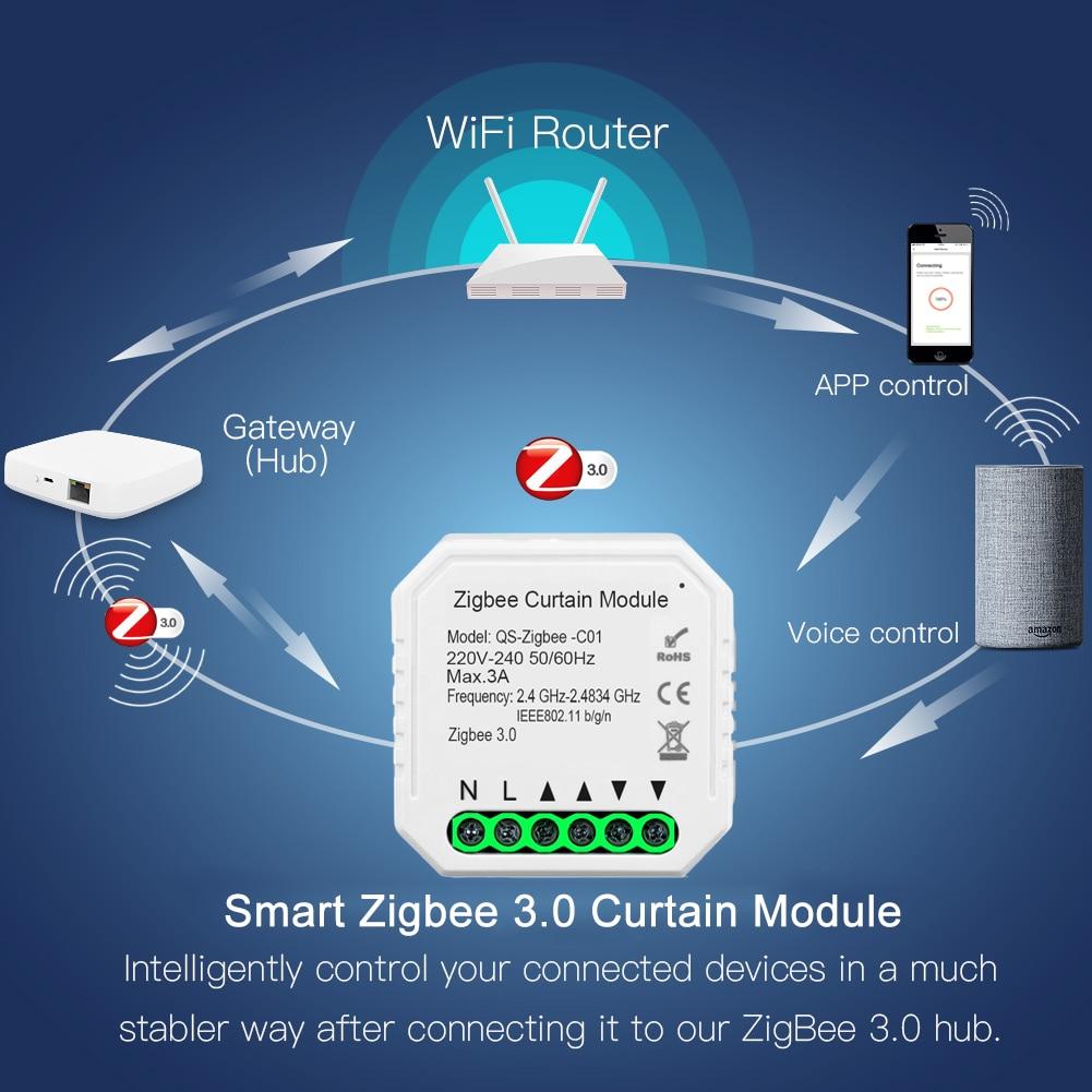 Módulo Zigbee 3.0 para persiana