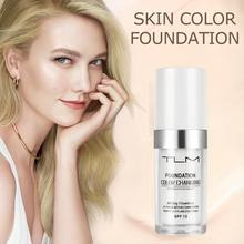 Hot TLM 30ML Color Changing Foundation Profesional Temperature Change Liquid Foundation Concealer Base Cosmetics TSLM1