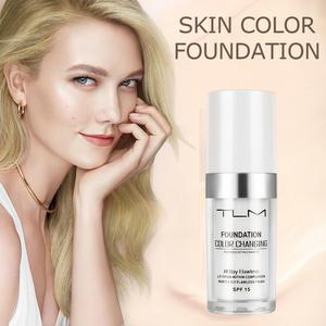 Image 1 - Hot TLM 30ML Color Changing Foundation Profesional Temperature Change Liquid Foundation Concealer Base Cosmetics TSLM1