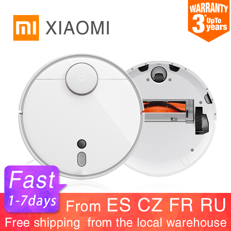 2020 XIAOMI MIJIA Mi Robot Vacuum Cleaner 1S 2 for Home Automatic Sweep Dust Sterilize cyclone Suction WIFI APP Smart Planned RC Vacuum Cleaners    - AliExpress