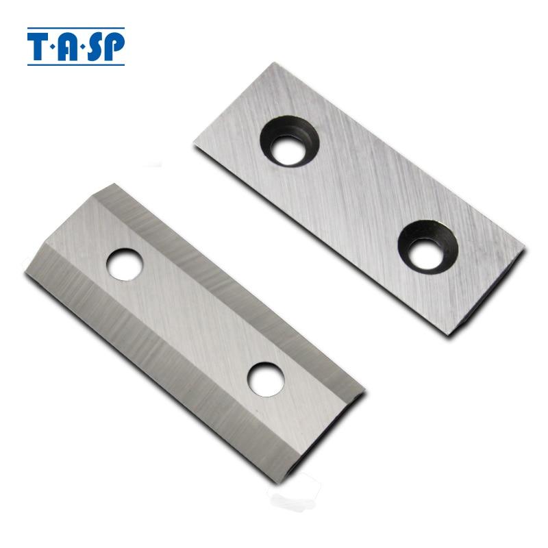 TASP 2pcs Garden Shredder Chipper Blade Knife Fits SCREWFIX TITAN TTB3535HR 2500W