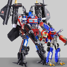 Deformation Robot Toys Car Series Anime Optimus Prime Skyfire vest Robot Abs Plastic For Kids Boy Toys model Educational toys цена 2017