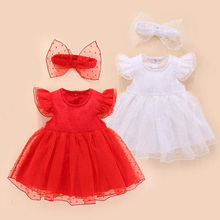 2020 New 0-12 months baby dress summer fashion casual girl