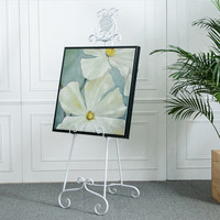 New Easel Wedding Banquet Easel Metal Picture Stand Photo Display Frame Nordic Style Oil Painting Stand