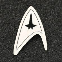 Star Trek Broche Pin TMP De Motion Picture Admiral Commando Badge Zilveren Kleur Mode Nieuwe Hot Movie Sieraden Mannen Vrouwen groothandel