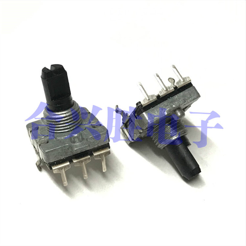 EC16 Encoder Non-positioning 24 Pulse Amplifier Sound Volume Adjustment Potentiometer Shaft Length 15mm