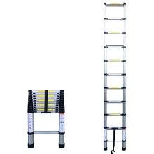 10.50FT(3,2 м) Бытовая складная лестница из алюминиевого сплава 7/9/11 шагов расширение лестницы телескопические выдвижные 150kg Bear Вес