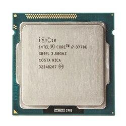 インテル i7 3770 18K クアッドコア LGA 1155 3.5 Ghz の 8 メガバイトの HD グラフィック 4000 TDP 77 ワットデスクトップ CPU i7-3770K